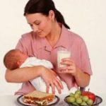 Особенности питания при грудном вскармливании