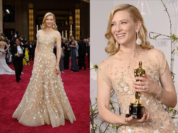Cate Blanchett's Oscar'14 Gown: Most Expensive Red Carpet Gown