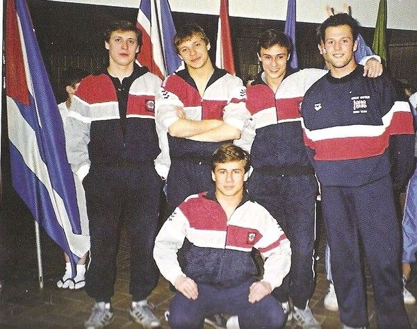 Джейсон Стэтхэм и сборная СССРв 1990-м году