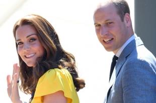 Кейт Миддлтон и принц Уильям с детьми отдыхают на острове Мюстик