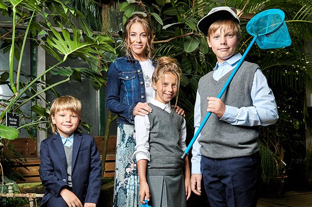 Яна рудковская и ее дети от первого