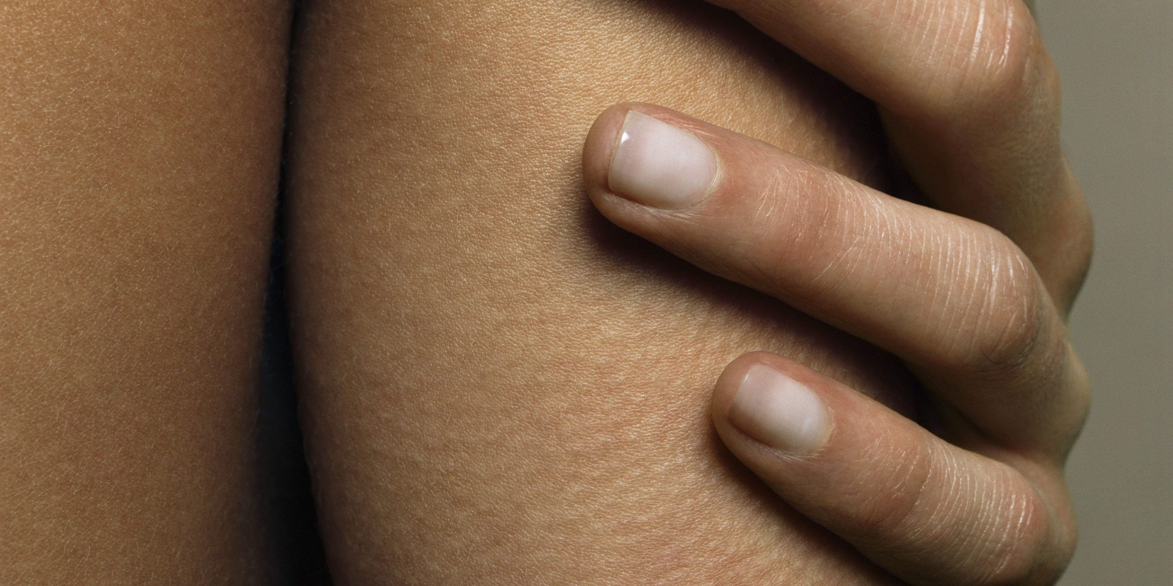 Nails after gel nails