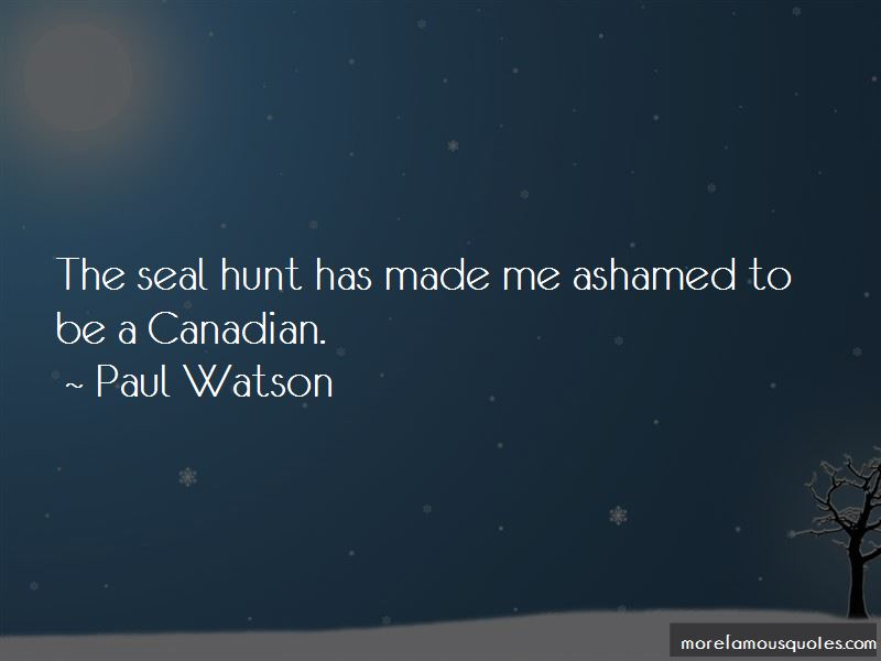 Seal hunting quotes