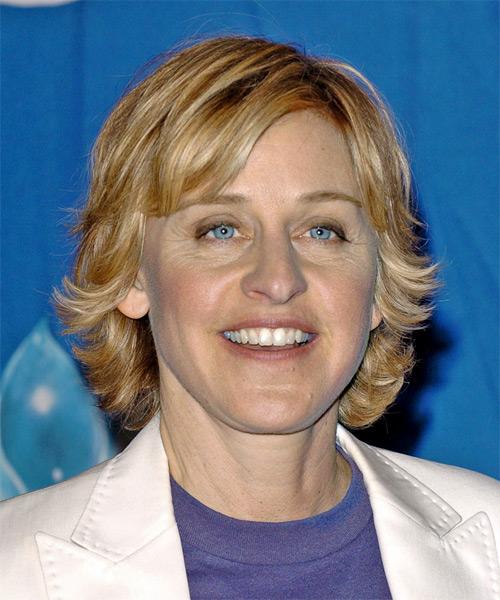 Ellen degeneres short hair style