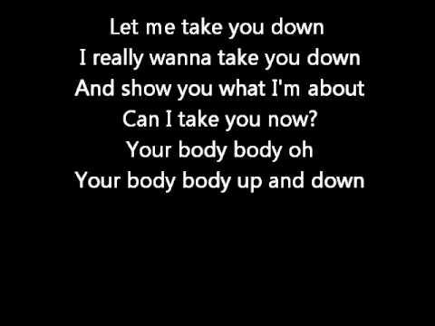 Take you down chris brown lyrics