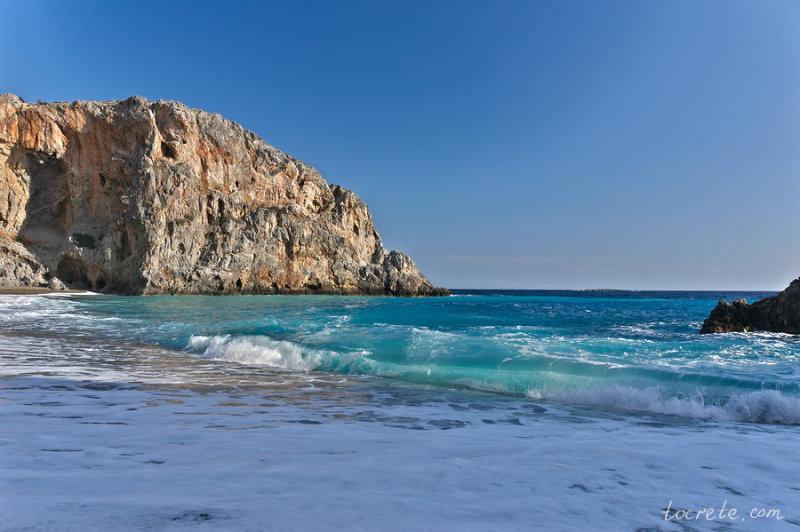 Какое море на крите