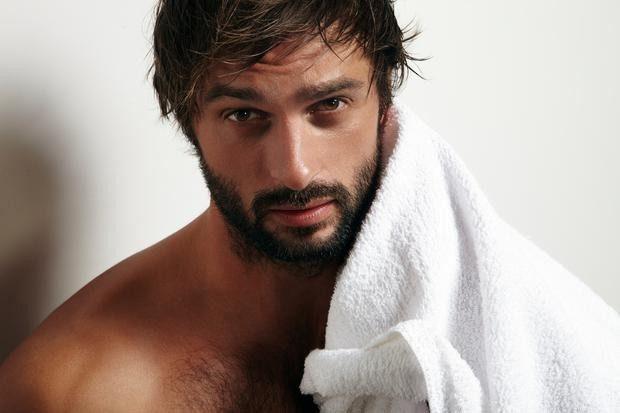 брутальная борода с висками и усами