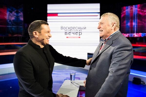 Жириновский в программе Соловьева