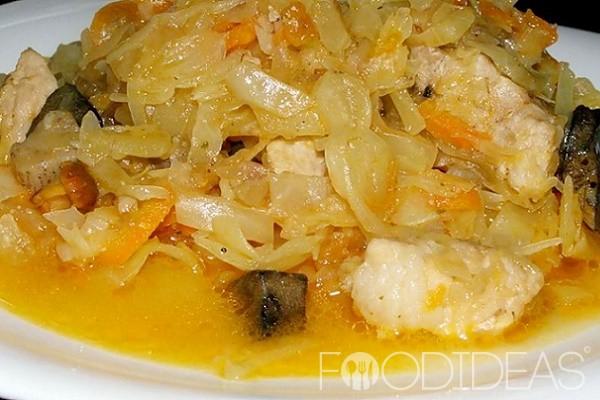 Солянка с мясом рецепт из капусты в мультиварке