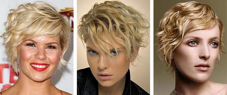 Популярным вариантом стрижки на волнистые волосы до плеч является боб.