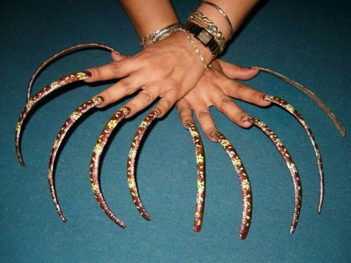Pictures of really long nails