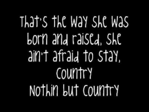 Jason aldean she's country lyrics