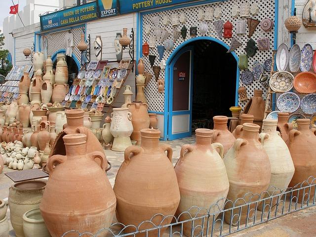 Что привезти с собой из Туниса - керамика