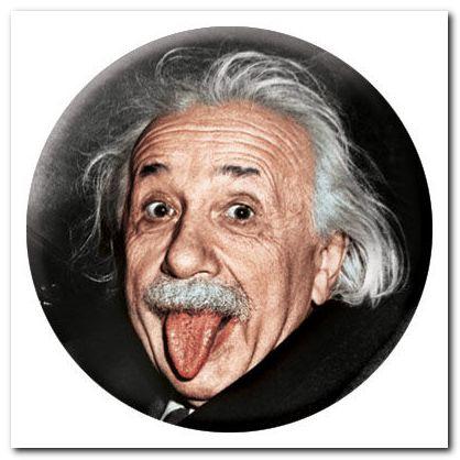 Эйнштейн с языком фото