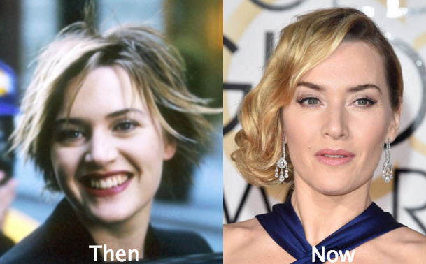 Kate winslet airbrushed before and after