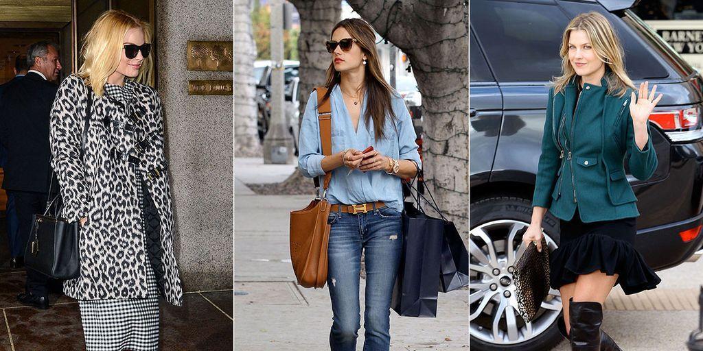 Celebrities winter fashion