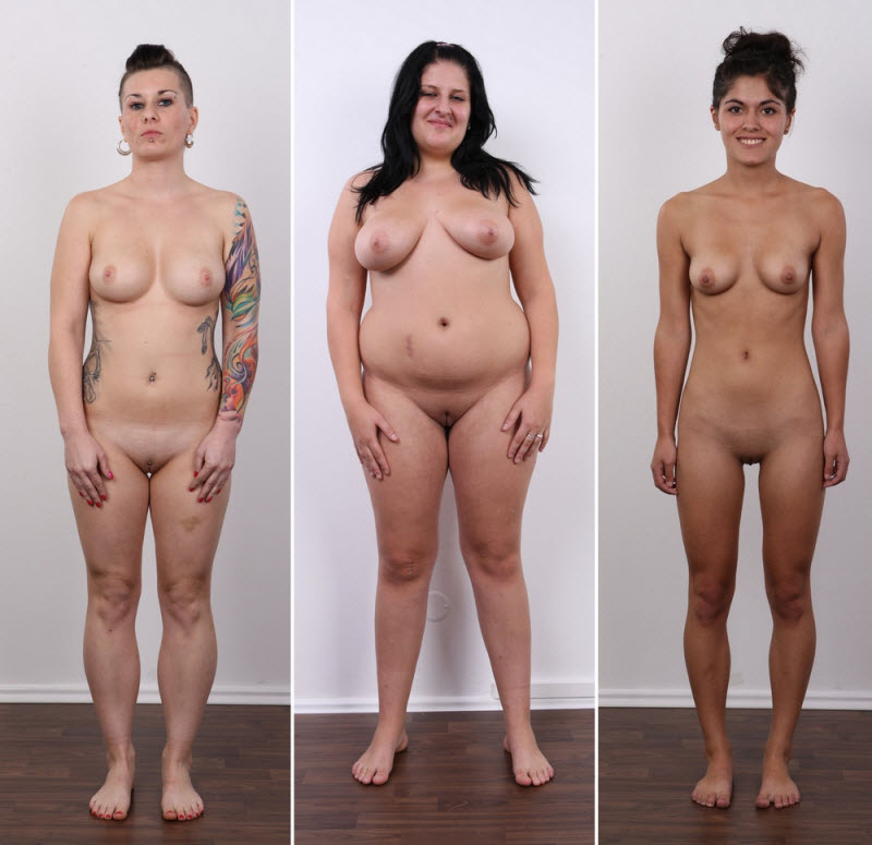 Кастинг голые