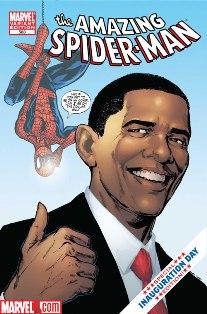 Comics of barack obama