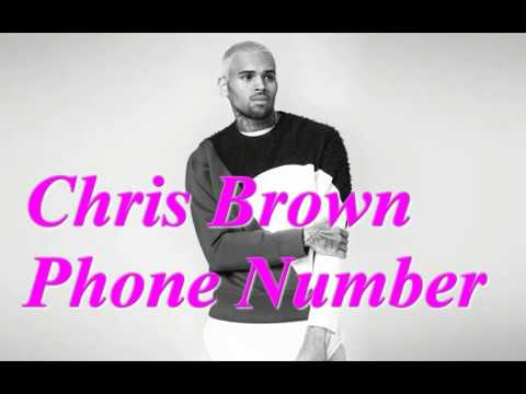What is chris brown real phone number