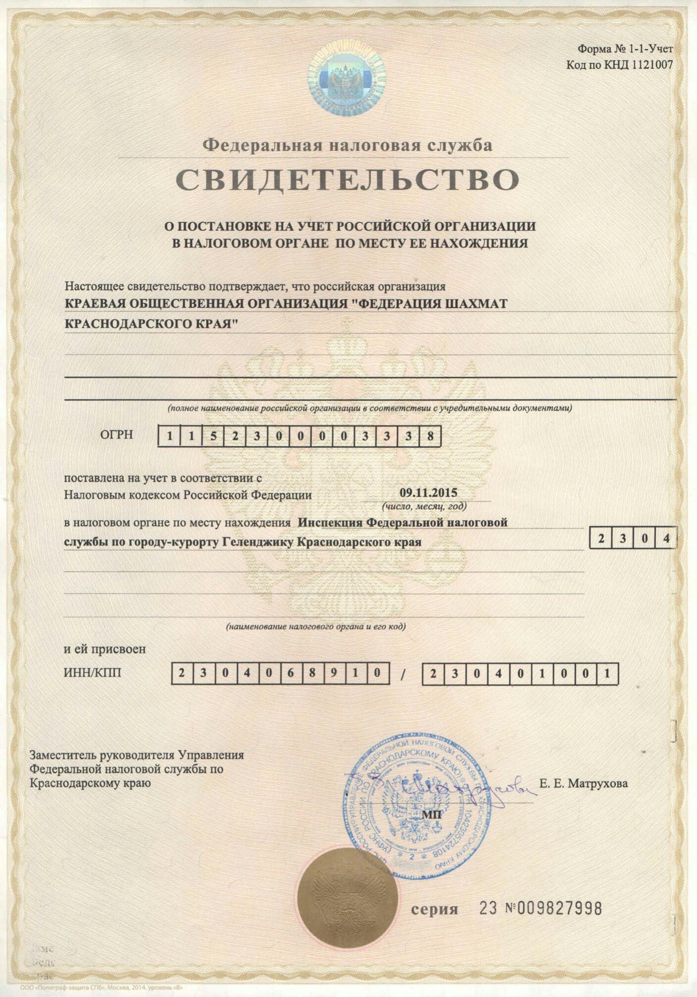 Шахматы документы