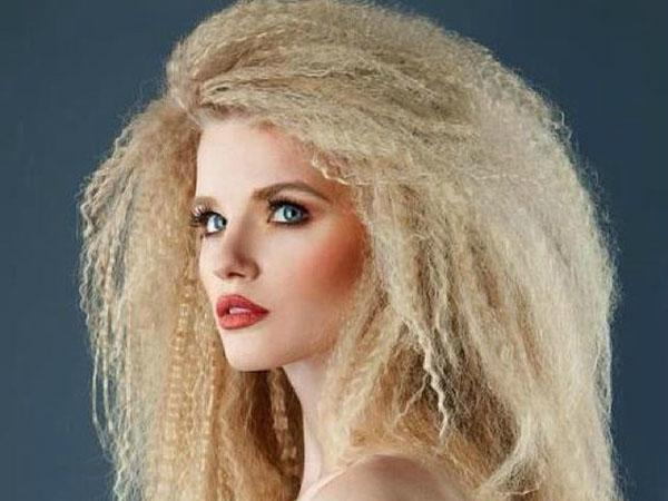 Гофре на волосах фото