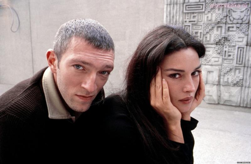 Венсан Кассель и Моника Беллуччи отлично смотрелись вместе.