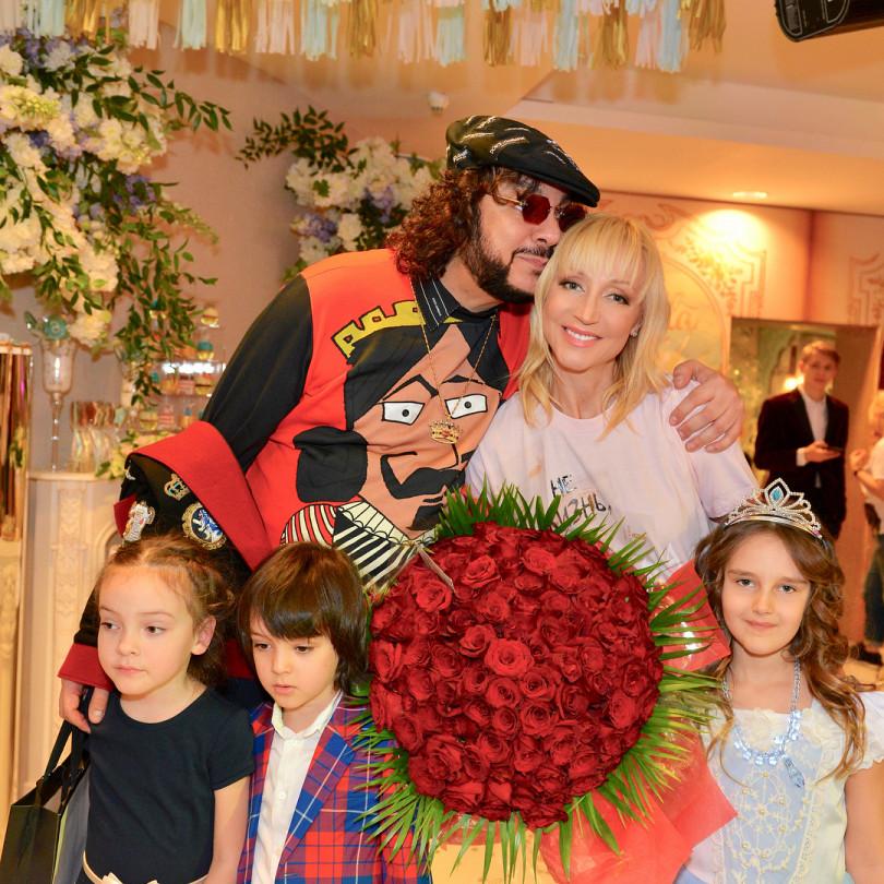 Филипп Киркоров на дне рождения дочери Кристины Орбакайте
