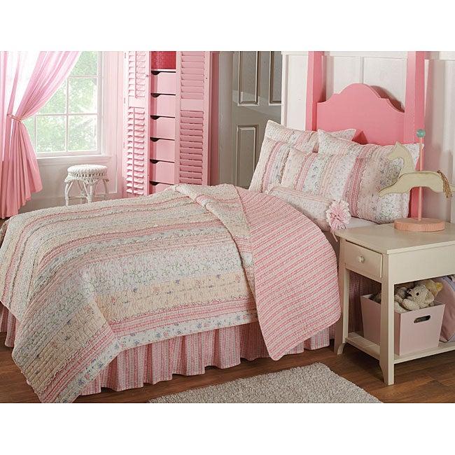 Emma pink quilt set