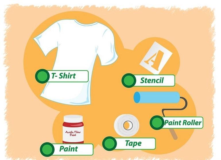 Как сделать принт на футболке своими руками