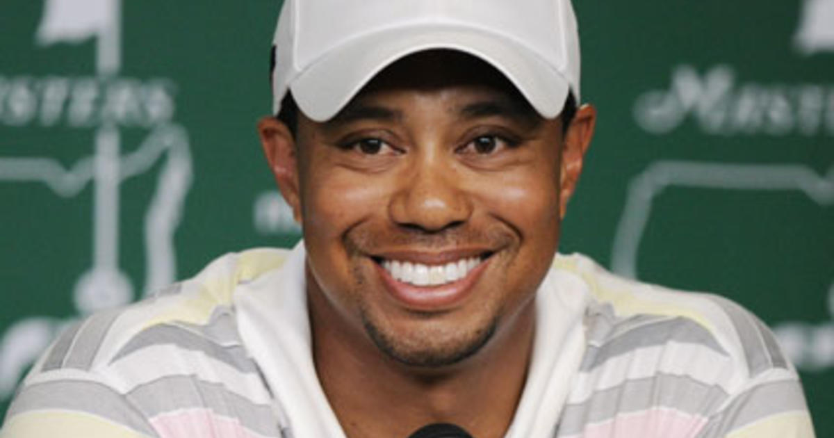 Photo game face tiger woods 13
