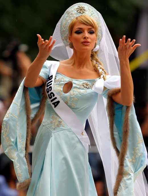 Котова Мисс Вселенная 2007