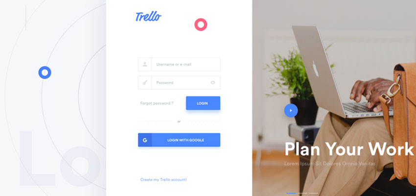 Trello Atlassian - Login