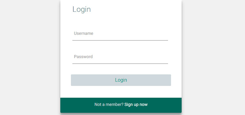Smooth and Flexible Login Template