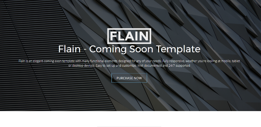 Cooming - Coming Soon HTML Template