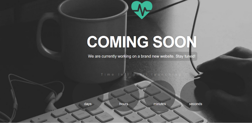 Heartbeat – Coming Soon Template