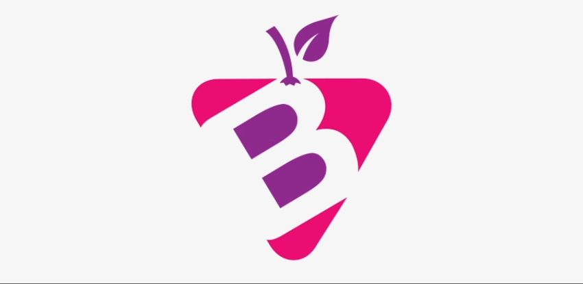 20-bFruit - Create Fruit Business Vector Logo