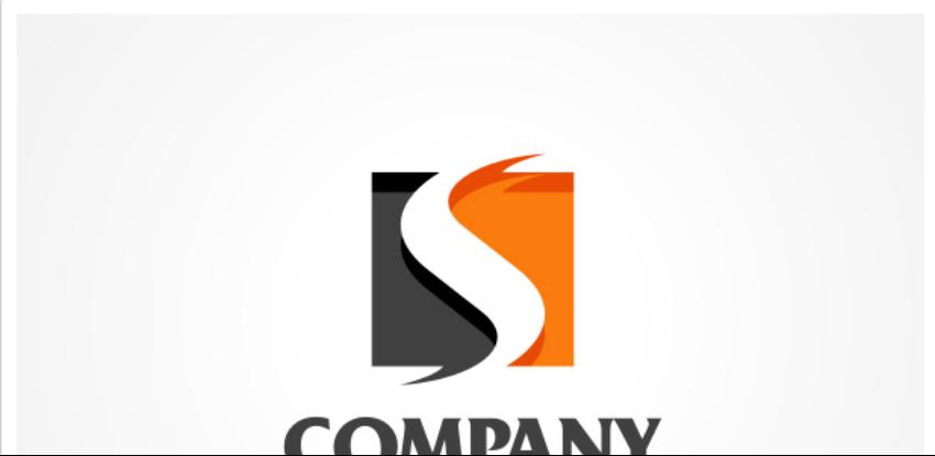 3-White S Logo