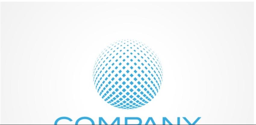 5-Pixelated Globe Logo