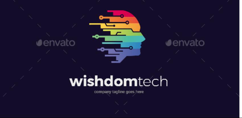 10-Technology logo template