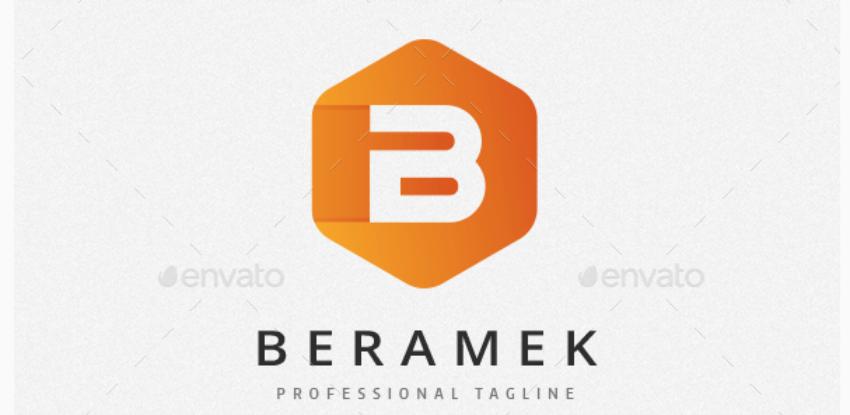 9-Cubical B Letter Logo