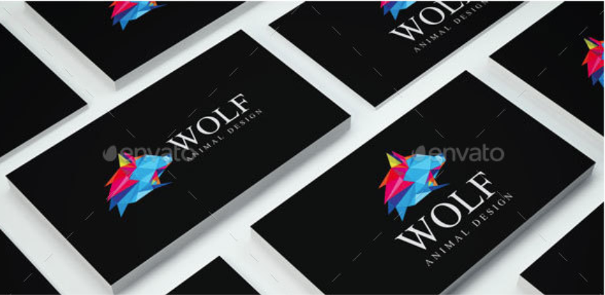 16-Wolf Logo