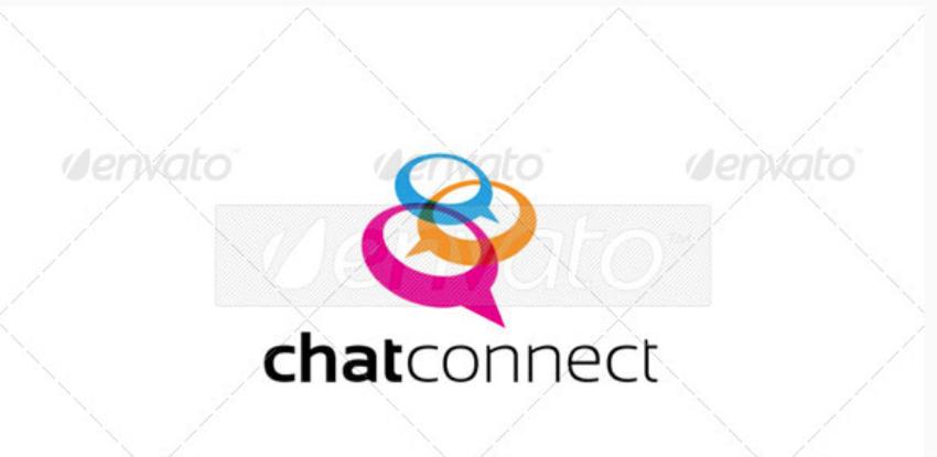 17-Chat logo Logo-2380