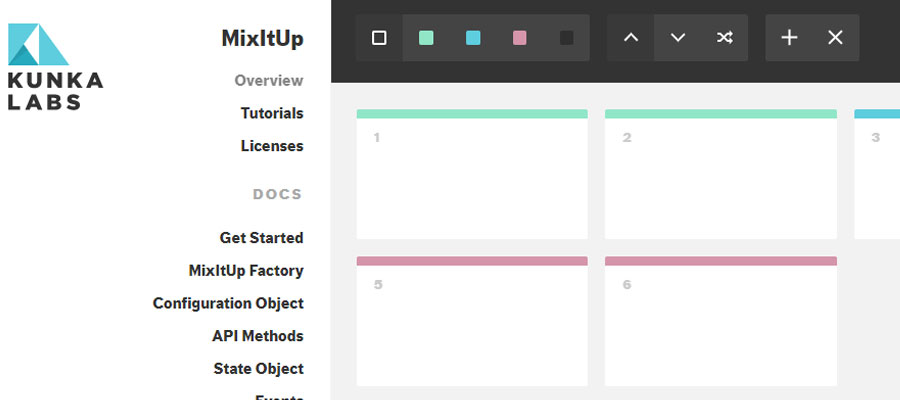 MixItUp 2 – Powerful jQuery sorting plugin