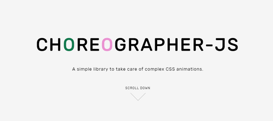Coreographer-js - A JS library for complex animations