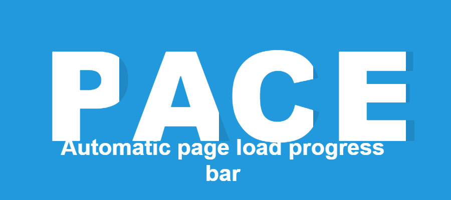 Pace.js – Progress bars for websites