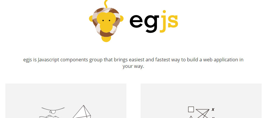 Egjs set of UI interactions
