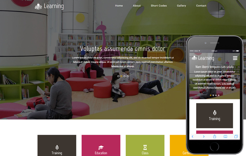 Edumate an Education Category Bootstrap Responsive Web Template