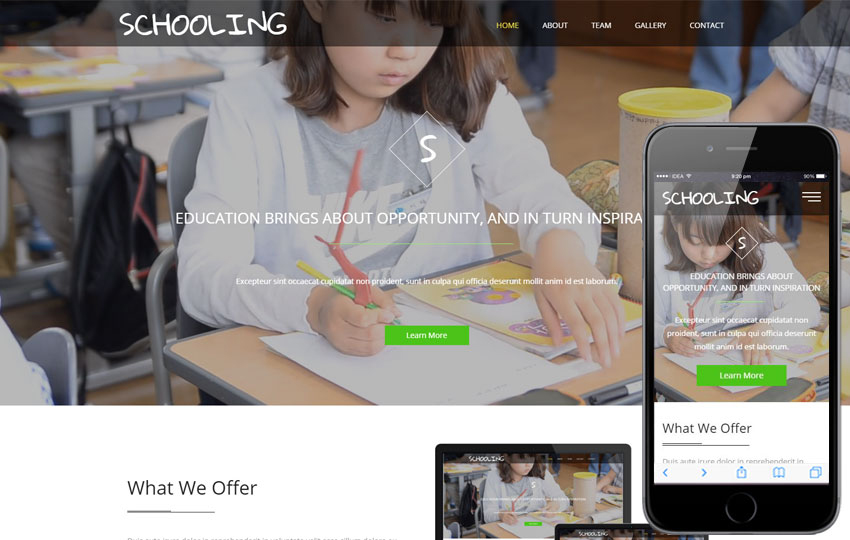 Stretch Education Category Bootstrap Responsive Web Template