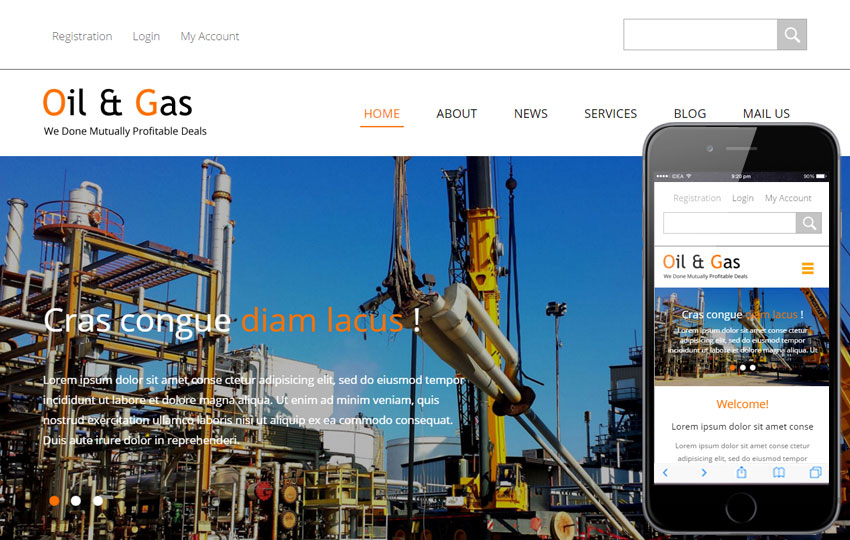 Oil and Gas Construction Company