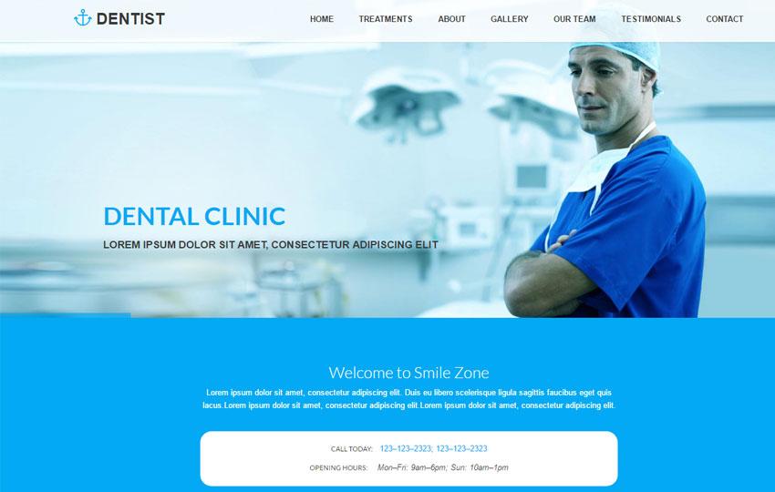 Dentist Best Dental Clinic HTML Website Template